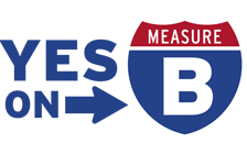 Yes on Measure B Logo